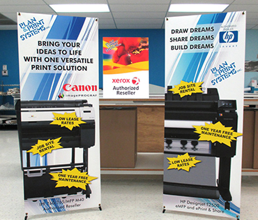 banner stands gallery image from plan and print near syracuse ny