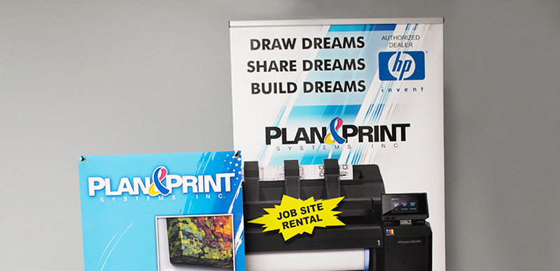 Display Graphics Plan & Print Systems Inc. Large Format Printing, Print Equipment & Supplies