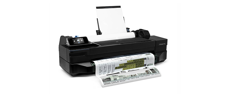 HP DesignJet T120 Printer from plan and print near syracuse ny