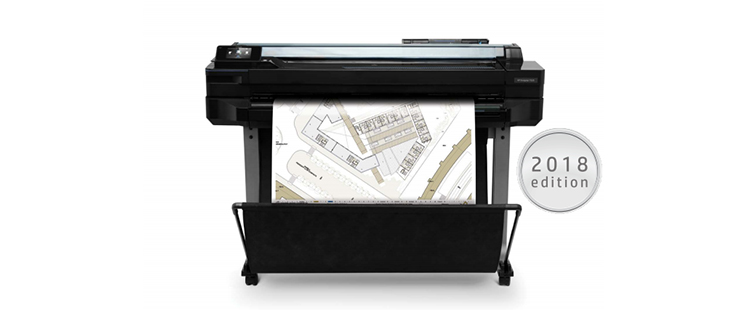 HP DesignJet T520 from plan and print near syracuse ny