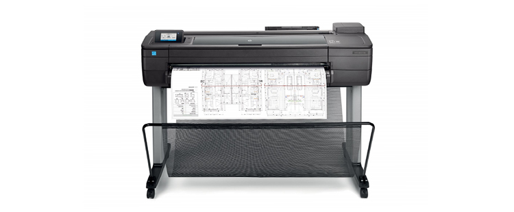 HP DesignJet T730 Printer from plan and print near syracuse ny