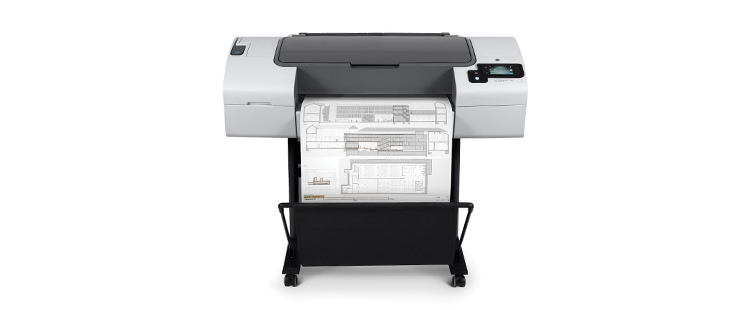 HP DesignJet T790 PostScript Printer from plan and print near syracuse ny