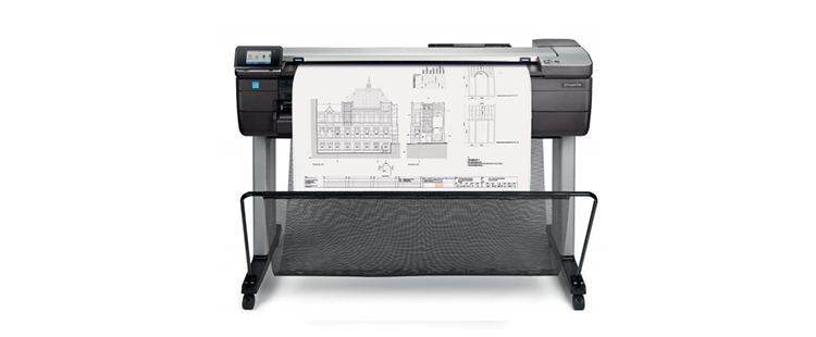 HP DesignJet T830 36-in Multifunction Printer from plan and print near syracuse ny