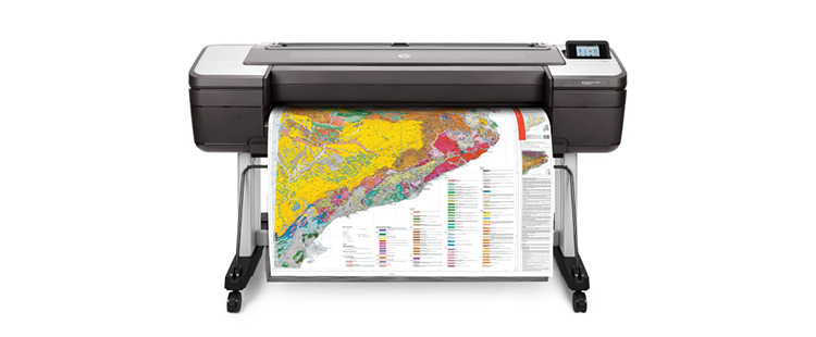 HP DesignJet T1700 Printer from plan and print near syracuse ny