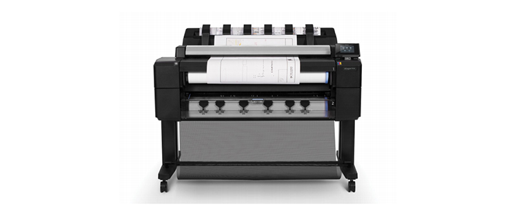 HP DesignJet T2530 Multifunction Printer Series from plan and print near syracuse ny