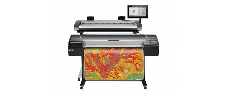 HP DesignJet HD Pro MFP from plan and print near syracuse ny